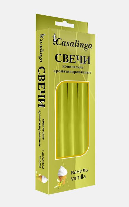Casalinga Свеча коническая ароматизированная Х-122