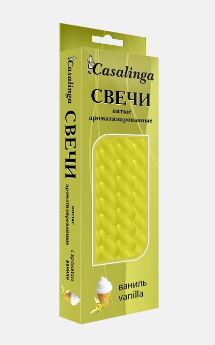 Casalinga  Свеча витая ароматизированная Х-125