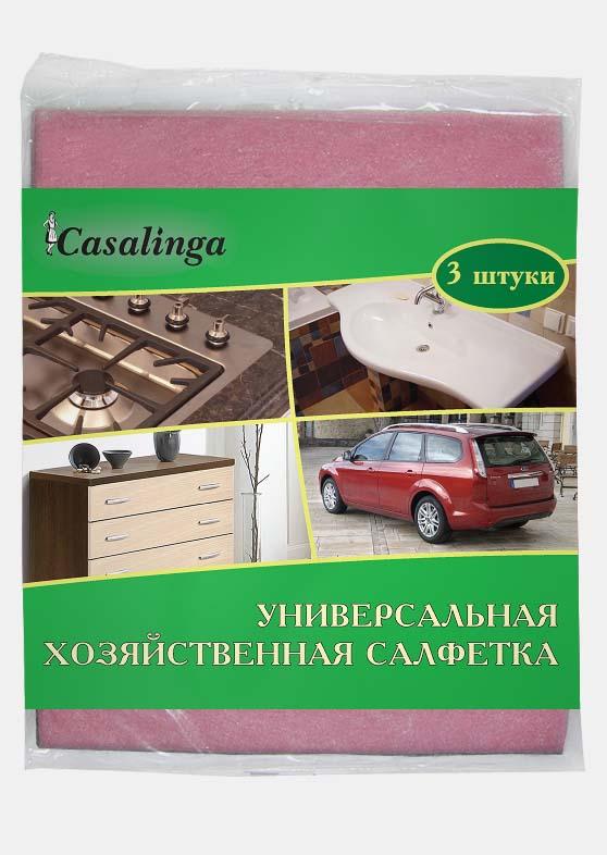 Casalinga Универсальная хозяйственная салфетка вискозная для любых поверхностей Х-158