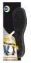 KAPS Стельки черные из натуральной кожи LEATHER CARBON BLACK
