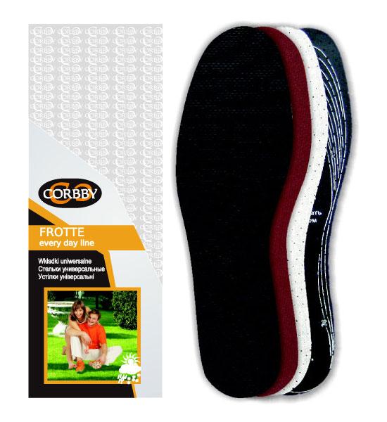Corbby Стельки FROTTE для спортивной обуви