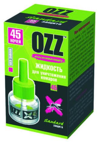 OZZ Жидкость для уничтожения комаров 45 ночей