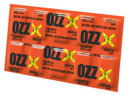 """OZZ Пластины """"OZZ - ультра"""" для уничтожения комаров к электрофумигатору"""