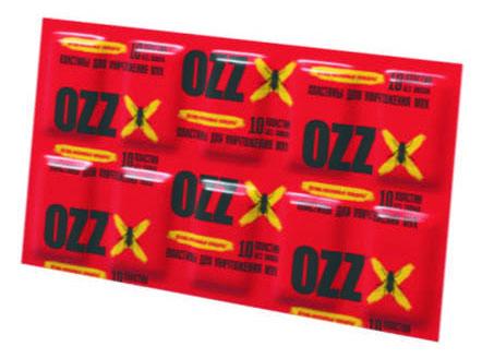 OZZ Пластины для уничтожения мух к электрофумигатору