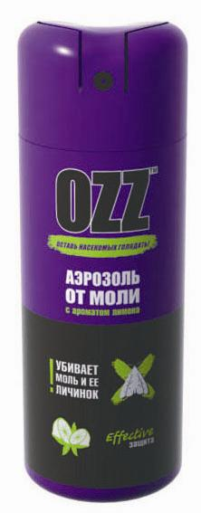 OZZ Средство инсектицидное в аэрозольной упаковке от моли