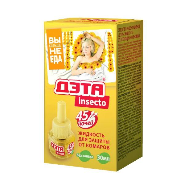 ДЭТА Жидкость Дэта для защиты от комаров 45 ночей