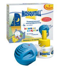 Москитол Комплект: фумигатор + жидкость 45 ночей «Нежная защита» от комаров + магнит в падарок