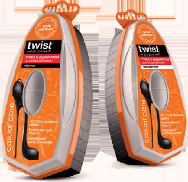 Twist Casual Губка для гладкой кожи с дозатором