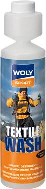 Woly Sport WOLY SPORT Средство для стирки изделий с климат. мембранами 250 мл «TEXTILE WASH»