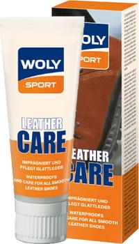 Woly Sport WOLY SPORT  Крем 75 мл черный / бесцветный «LEATHER CARE»