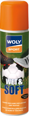 Woly Sport WOLY SPORT Аэрозоль 250 мл «WET & SOFT»