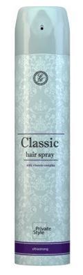 Средства для укладки волос ЛАК для волос Classic сильной фиксации