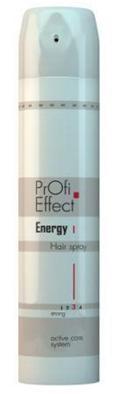 Средства для укладки волос ЛАК для волос Profi Effect Energy сильной фиксации