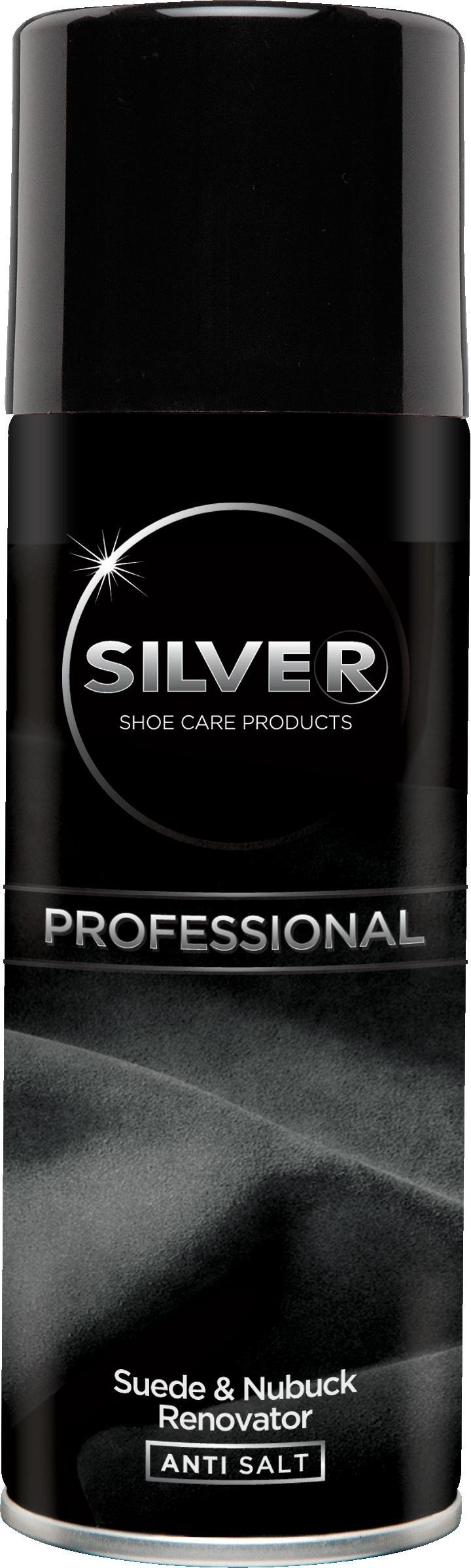 SILVER Professional Спрей замша/нубук 200 мл