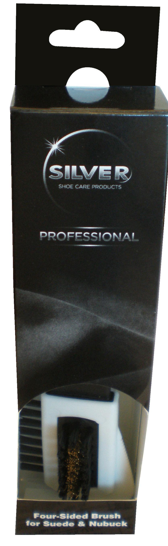SILVER Professional  Щетка для замши/нубука