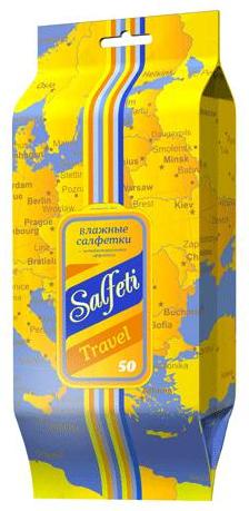 Авангард Салфетки влажные Salfeti TRAVEL с антибактериальным эффектом