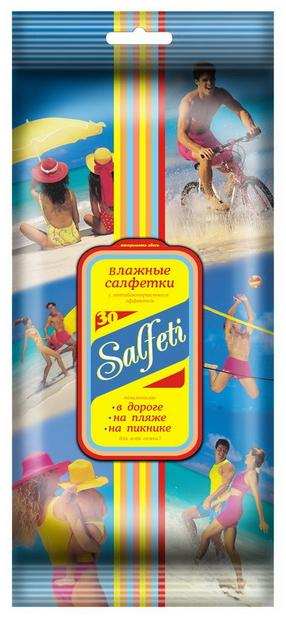 Авангард Салфетки влажные Salfeti FAMILY с антибактериальным эффектом