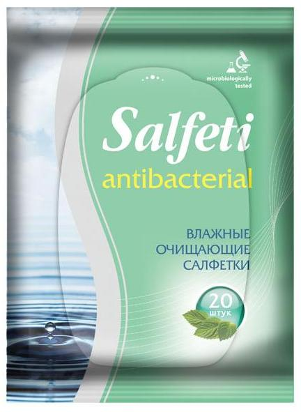 Авангард Антибактериальные очищающие салфетки Salfeti