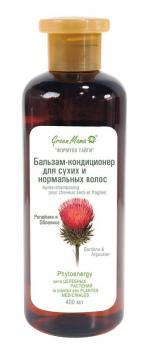 Green MAMA Бальзам-кондиционер для сухих и нормальных волос
