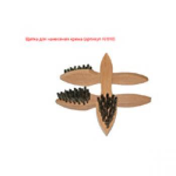 Щётки для одежды и обуви Щётка для нанесения крема Н/010, размер: 170x35x11