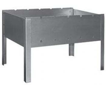 Имидж - Все для барбекю Мангал стальной Хватит на три лета 420*270*340 мм (сталь 0,8)