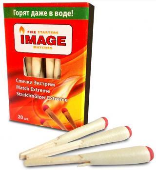 Имидж - Все для барбекю Спички Экстрим нап. 20 (45мм), 21009