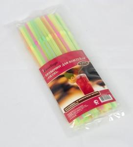 Casalinga Трубочка для коктейля «НЕОН», с изгибом, цветная Х-350 купить