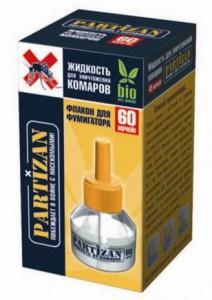 PARTIZAN Жидкость для уничтожения комаров 60 ночей купить