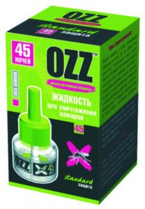 OZZ Жидкость для уничтожения комаров 45 ночей купить