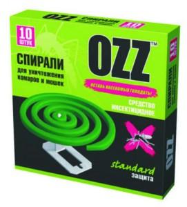 OZZ Антикомариные  спирали