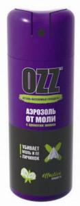 OZZ Средство инсектицидное в аэрозольной упаковке от моли купить