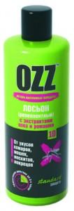 Серия STANDARD защита OZZ - 10 OZZ Лосьон репеллентный