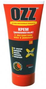 Серия ULTRA защита OZZ -18 OZZ Крем репеллентный 100 мл