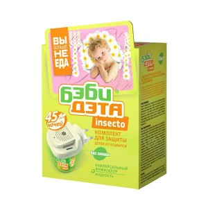 ДЭТА  Комплект Бэби Дэта для защиты детей от комаров купить