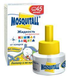 Нежная защита Москитол Жидкость 45 ночей «Нежная защита» от комаров купить