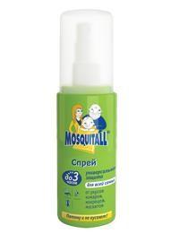 Универсальная защита Москитол Спрей «Универсальная защита» от комаров, 100 мл купить