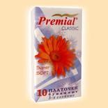 Бумажные платочки Premial Платочки бумажные «Classic» купить
