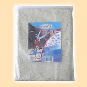 Вискозные салфетки Premial Тряпка для пола 100% хлопок PREMIAL 55х80 см купить