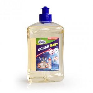 Коллекция Океан Frau Schmidt Frau Schmidt Baby-Гипоаллергенное средство для мытья Детской посуды 500мл купить