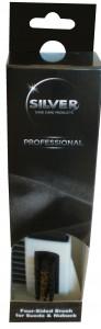 SILVER Professional  Щетка для замши/нубука купить