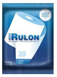 Авангард Влажная туалетная бумага Mon Rulon 20 купить