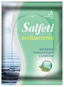 Salfeti Авангард Антибактериальные очищающие салфетки Salfeti купить