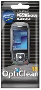 Opti Clean Авангард Влажные салфетки для мобильных телефонов Opti Clean купить