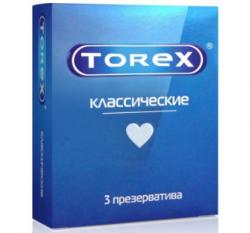 Torex презервативы Презервативы классические гладкие Torex №3 купить