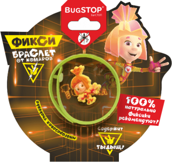 Браслет от комаров «Фиксики-2018» Kids