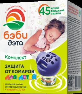 БЭБИ ДЭТА ДЭТА Детский комплект откомаров 45ночей купить