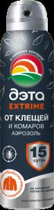 ДЭТА EXTRIME ДЭТА EXTRIME от клещей и комаров аэрозоль купить