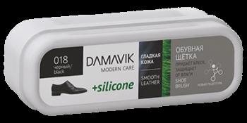 DAMAVIK Обувная щетка «DAMAVIK» с силиконом для ухода за изделиями из гладкой кожи купить