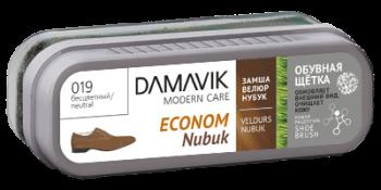 DAMAVIK Обувная щетка  «DAMAVIK»  эконом для ухода за изделиями из замши, нубука, велюра купить