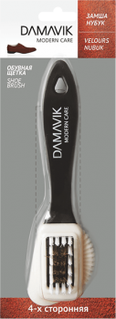 DAMAVIK Комбинированная 4-х сторонняя щетка DAMAVIK для замши, нубука и велюра купить